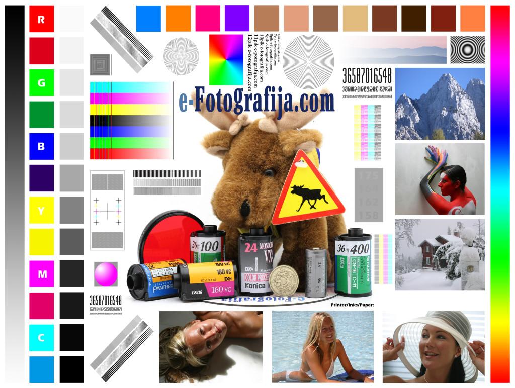 Color Print Test Image 13